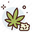health, medical, pharmacy, weed icon
