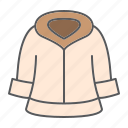 dry, clean, wash, cleaning, fur, cloth, coat icon
