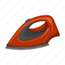 appliance, equipment, household, iron, ironing, things, tools icon