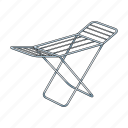 construction, drying, equipment, grating, things icon