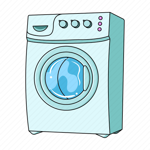 apparatus, equipment, laundry, linen, machine, things, washing icon