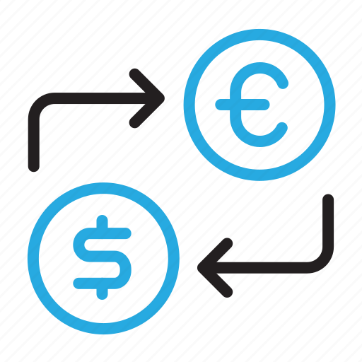 Currency, dollar, euro, exchange, money, trade icon - Download on Iconfinder