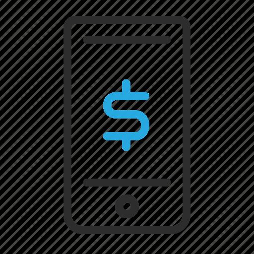 Communication, dollar, mobile, money, sign, smartphone icon - Download on Iconfinder