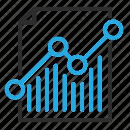 chart, document, file, graph, report, statistics, stats icon