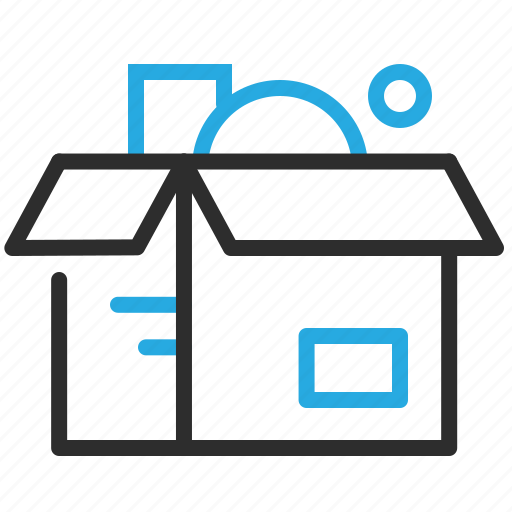 box, package, packaging, parcel, product, products icon