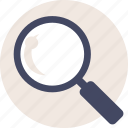 duotone, find, magnify, magnifying glass, search, zoom icon