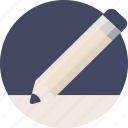 draw, duotone, edit, paper, pen, pencil, sheet, write icon