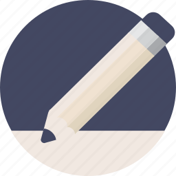 draw, duotone, edit, paper, pen, pencil, sheet, write icon
