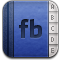 address book, facebook icon