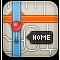 gps, map, pin icon