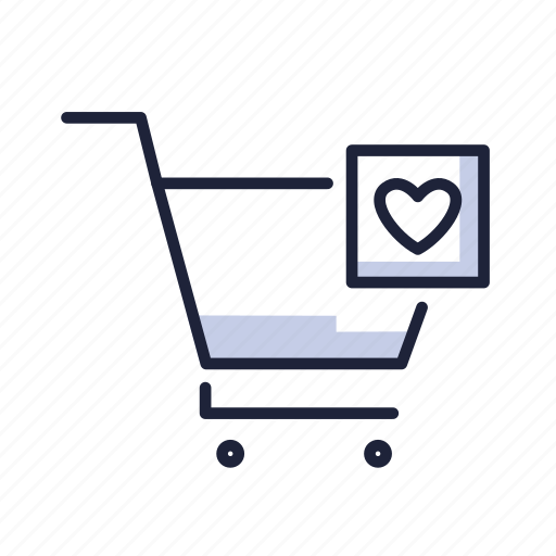 basket, buy, cart, ecommerse, love, sell, shop icon