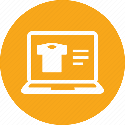 online shop, online shopping, online store icon