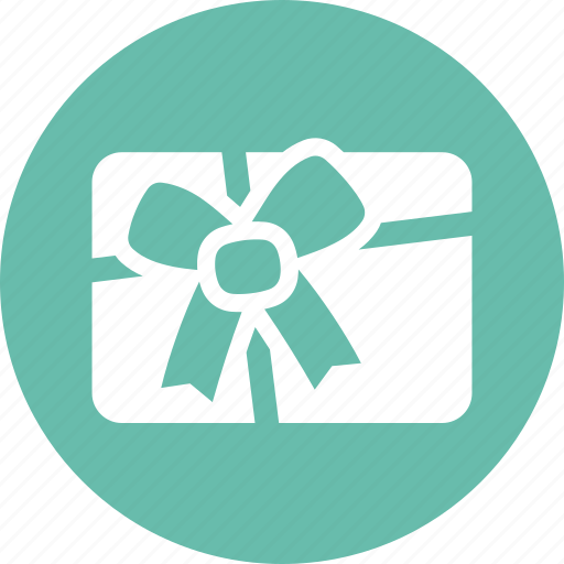 gift card, present, shopping icon