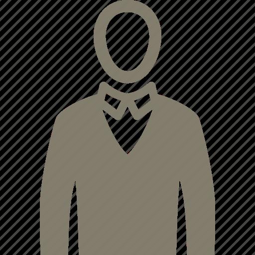 avatar, man, men clothing, user icon