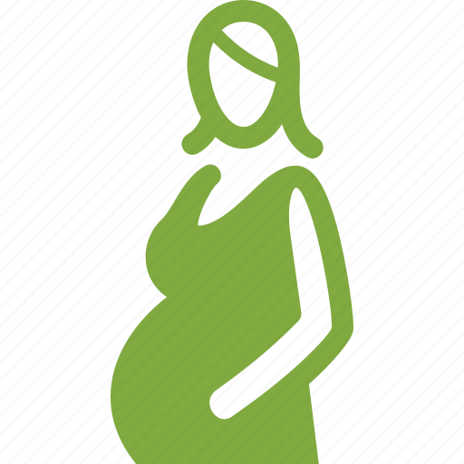 clothing, maternity, pregnant woman icon