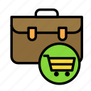 businesscart, commerce, online, ping, purchase, shop icon