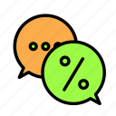 bubble, chat, email, message icon