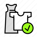 clothes, onlineapprove, purchase, store icon