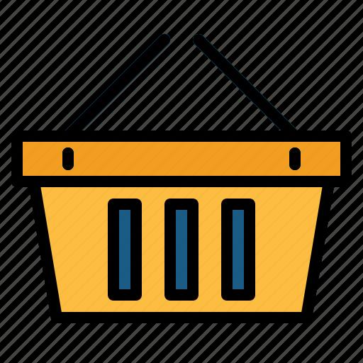 basket, shopping, supermarket icon
