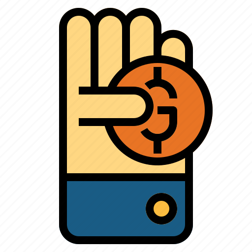 cash, coin, money, payment, profit icon