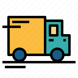 cargo, delivery, delivery truck, truck icon