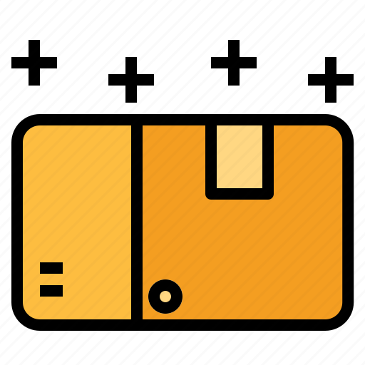 box, fragile, package, shipping icon