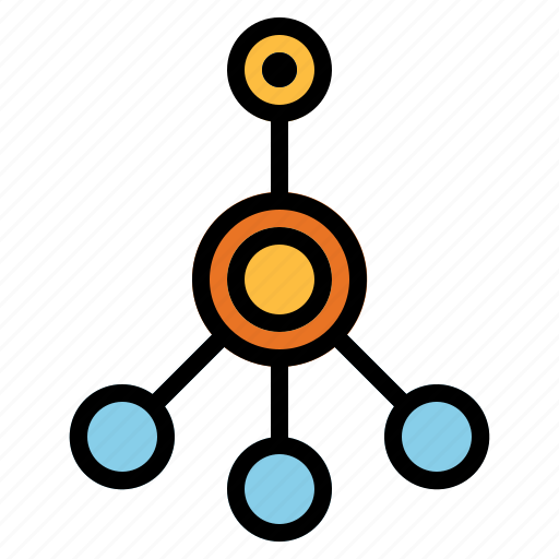 connector, network, share icon