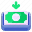 bank, business, cash, commercial, deposit, e commerce, shopping icon