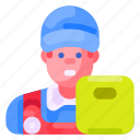 business, commercial, courier, delivery, e commerce, shopping icon
