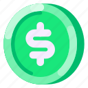 business, coin, commercial, dollar, e commerce, money, shopping icon
