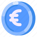 business, coin, commercial, e commerce, euro, money, shopping icon