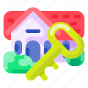 business, commercial, e commerce, property, real estate, shopping icon