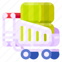 box, business, commercial, e commerce, shopping, trolley icon