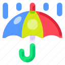 business, commercial, e commerce, rain, shopping, umbrella icon