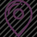 destination, map, mark, marker icon