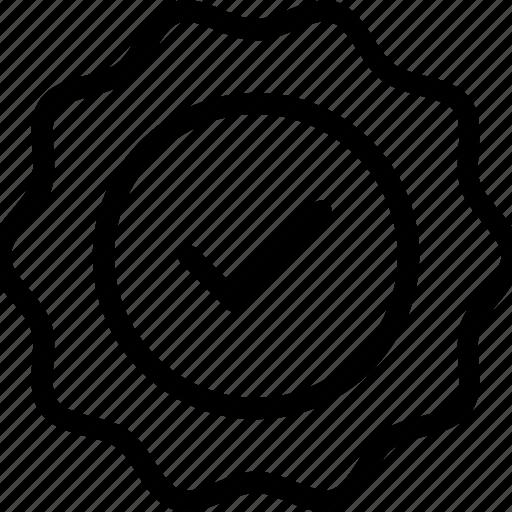 check, ok, sticker, verified icon icon