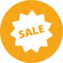 discount, sale, sticker icon