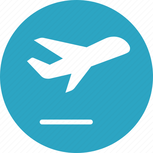 airplane, express shipping, fast delivery icon