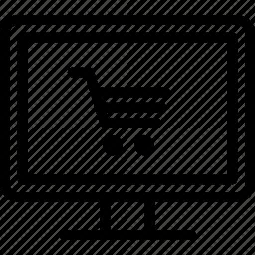e-commerce, online, online shop, shopping icon