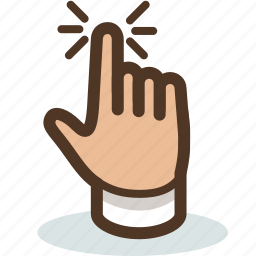 cleek, click, hand, interactive, tap, touch icon