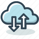 cloud, data, internet, server, storage icon