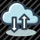 cloud, data, internet, server, storage