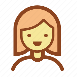 avatar, face, girl, operator, support, user icon