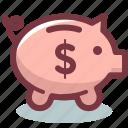 bank, budget, money, piggy, safe, saving, savings