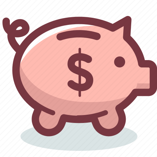 bank, budget, money, piggy, safe, saving, savings icon
