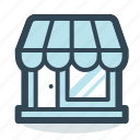 ecommerce, market, shopping, store icon