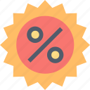 buy, discount, offer, percentage, price, sale, shopping icon