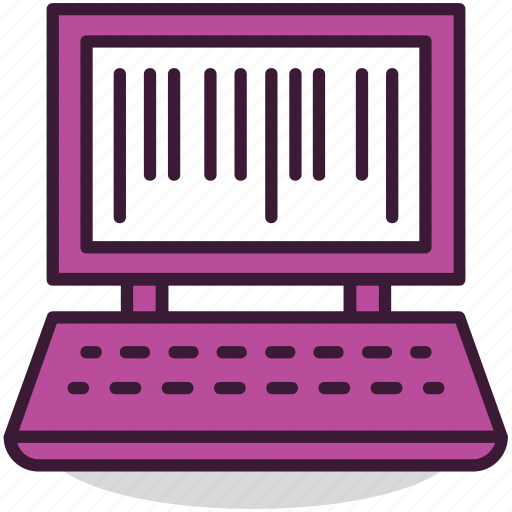 barcode, computer, digital, goods, internet, online, shopping icon