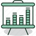 analytics, business, chart, graph, presentation, report, statistics icon