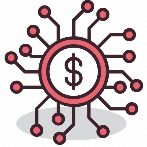 bitcoin, cryptocurrency, currency, digital, finance, money, payment icon